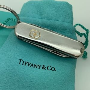 Tiffany & Co.925 18 KT Gold Swiss Army Knife